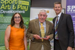 Alec Price - Howard Peters Award for Outstanding Contribution