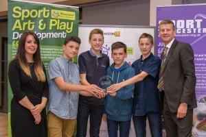 Nunnery Wood KS3 Badminton Team - Junior Team of the Year