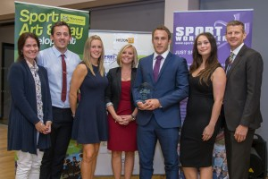 Tudor Grange PE Department - Award for Most Improved School