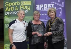 Lynne Newell Volunteer of the Year