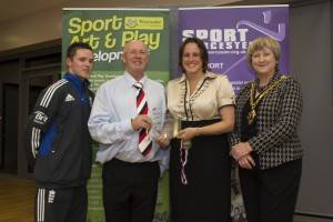 West Mercia Badminton Club and Performance Centre Club of the year