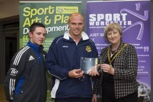 Worcester College of Technology Football Academy Best Educational Sporting Achievement
