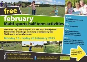 February 2015 Half Term Activities-1